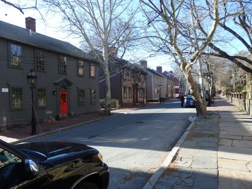 Walking along Benefit Street in the College Hill neighborhood of Providence, Rhode Island, can feel like living history.