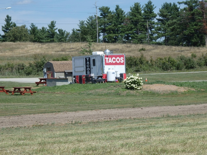 But this is what it turned out to be -- a taco stand! My, how America's mainstream tastes have changed!
