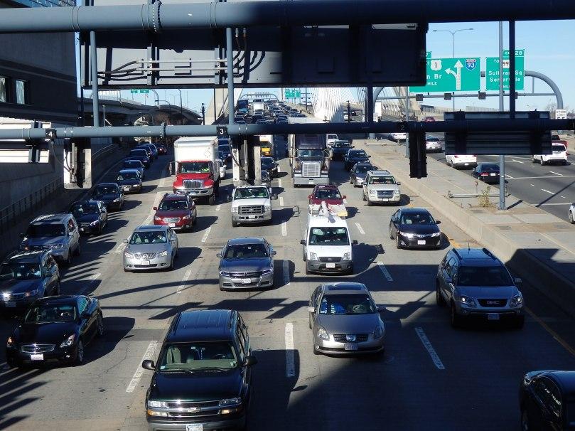 Medium traffic.