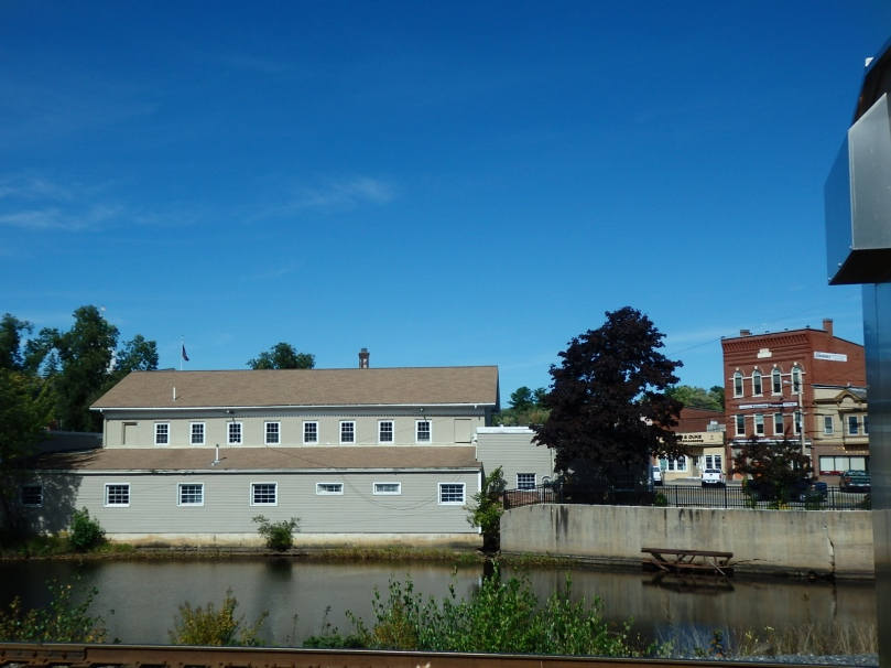 Mill in Berwick, Maine, seen from Somersworth, New Hampshire.