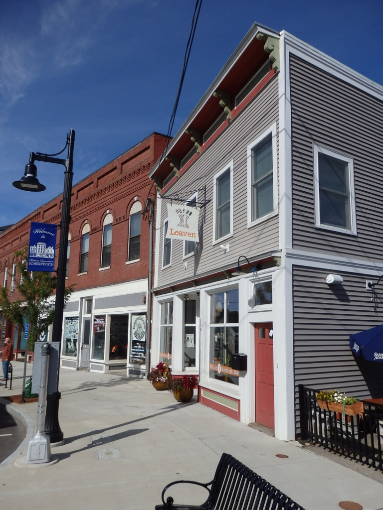 Leaven was an adveturous outpost of good food and good company in downtown Somersworth, New Hampshire. Small towns can be incubators of entrepreneurial innovation. Leaven's bakery continues as a wholesale operation.