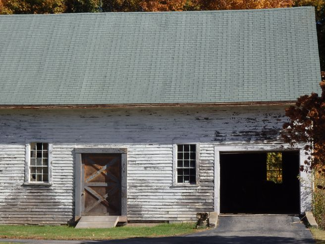 In a solidly residential neighborhood these days, an echo of a more rural past.
