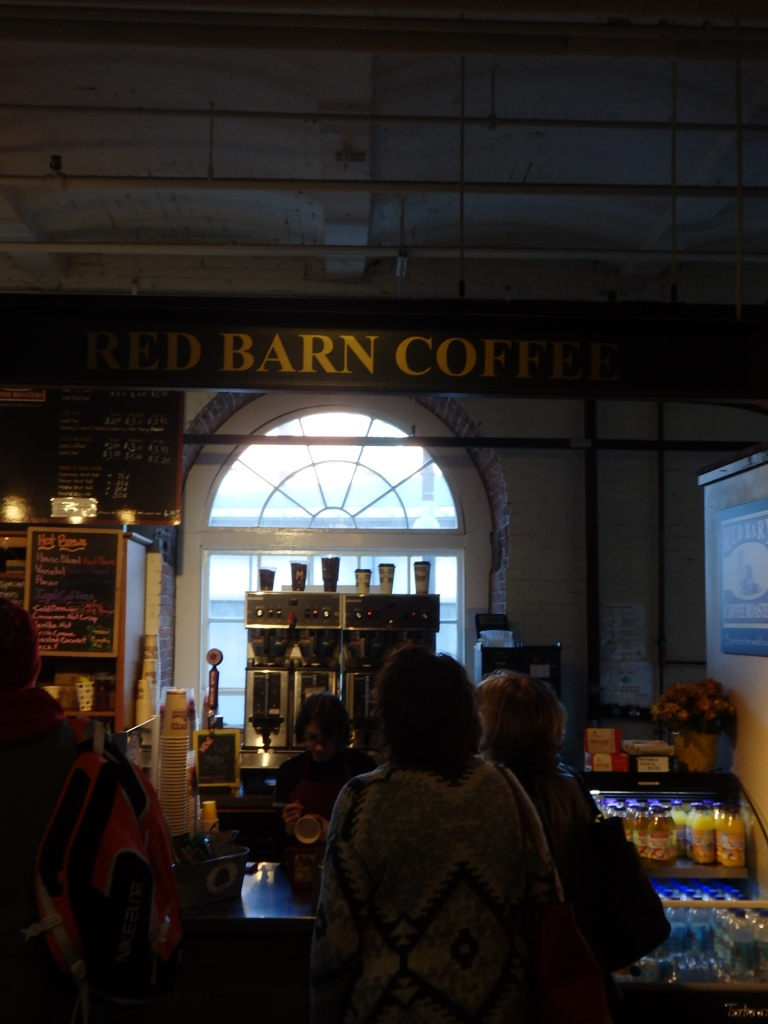 There, on the ground floor of Boston's historic Faneuil Hall, a vendor to warm my heart.